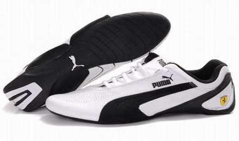 basket puma blanche femme pas cher